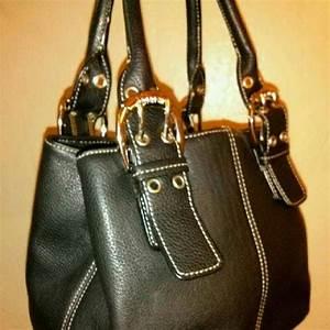 Tignanello Bags Tignanello Black Leather Small Handbag