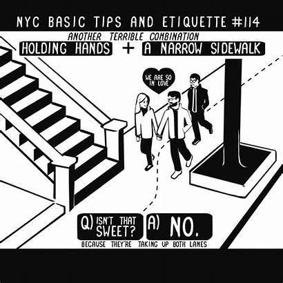 Etiquette Nyc Tips Basic Nathan Guide Gifs