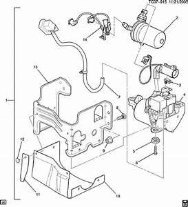 2007 Gmc Yukon Denali Xl Compressor  Air Suspension