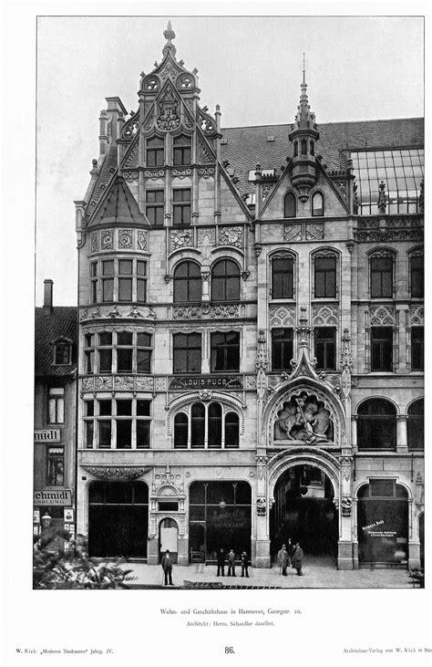 Dateihaus In Hannover, Georgstr 10, Architekt Hermann