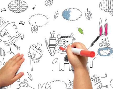 papier peint 224 colorier paperblog