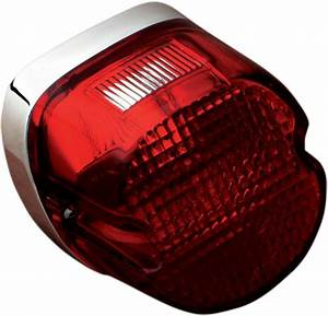 Ds Laydown Taillight Assembly Harley Davidson  139295