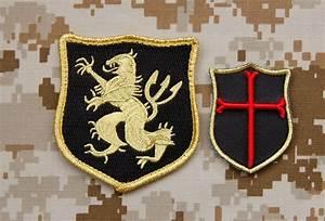 Nswdg Navy Seal Team 6 Lion Gold Squadron  U0026 Mini Crusader