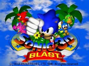 Sonic 3D Blast Sega Saturn