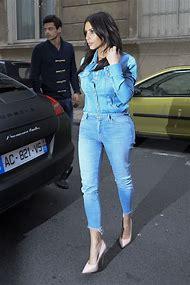 Kim Kardashian Denim Jeans