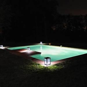 Lampe De Piscine : lampe solaire de jardin lantern solar la boutique desjoyaux ~ Premium-room.com Idées de Décoration