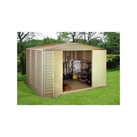 duramax shed accessories duramax 10 5 x 8 woodbridge vinyl shed w foundation kit