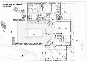 Maison Architecte Plan : plan maison pascal rigaud architecte dplgpascal rigaud architecte dplg ~ Dode.kayakingforconservation.com Idées de Décoration