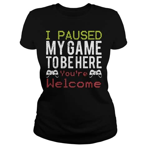 paused  game    youre  shirt sweater