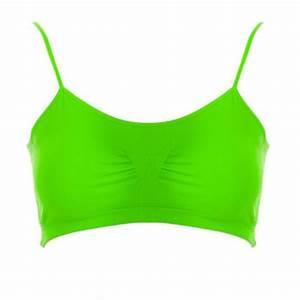 Shop Neon Green Bra on Wanelo