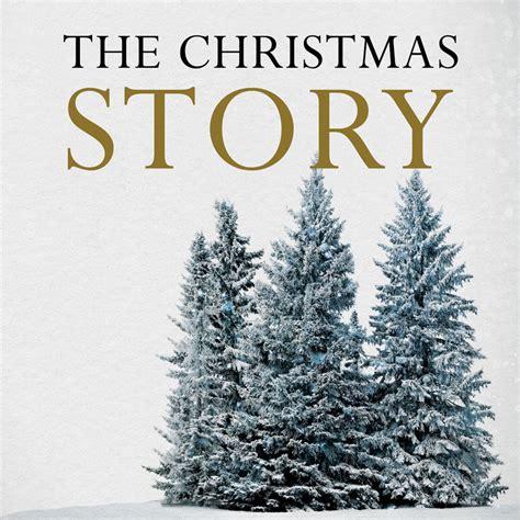church banner christmas story trees 3 x 3 outreach