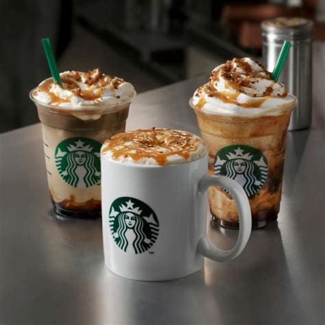 The shots of espresso need to be added after the steamed milk. Around the World: Starbucks Japan - Seasonal Crunchy Caramel Drinks   Brand Eating