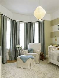 nursery window treatments Noe Valley nursery with blackout and sound reducing curtains | Stitch SF
