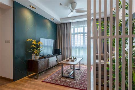 wood partition interior design singapore interior