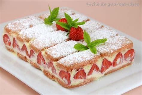 fraisier aux biscuits roses 1 paquet de biscuits roses