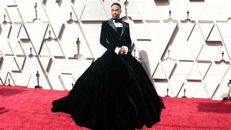 Pose Actor Billy Porter Wears Tuxedo Gown The Oscars