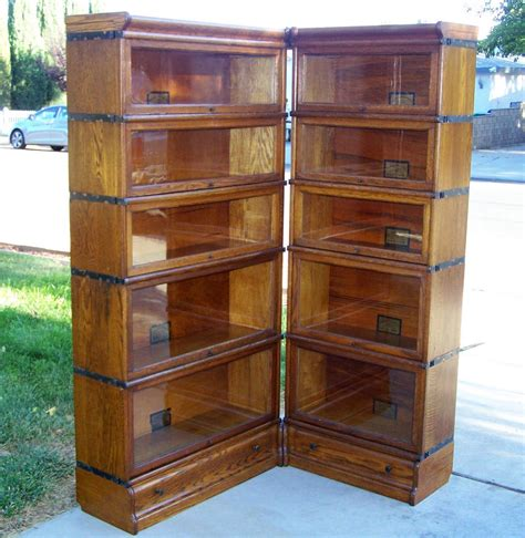 Bookcase Sale 25 quot 3 4 size globe wernicke bookcase corner unit antique