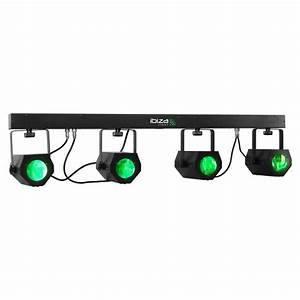 Ibiza 4Moon Bar Barre D39effets Lumire LED T Bar Lampe