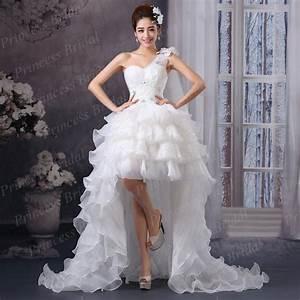 Aliexpresscom buy asymmetrical wedding dress front for Low back corset for wedding dress