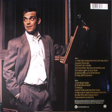 Robbie Williams Swing When You Re Winning by Williams Robbie Swing When You Re Winning Vinyl Lp