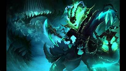 Thresh Legends Animated Login Screen Leauge Detras