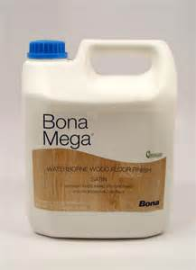 bona mega waterborne wood floor finish satin gallon