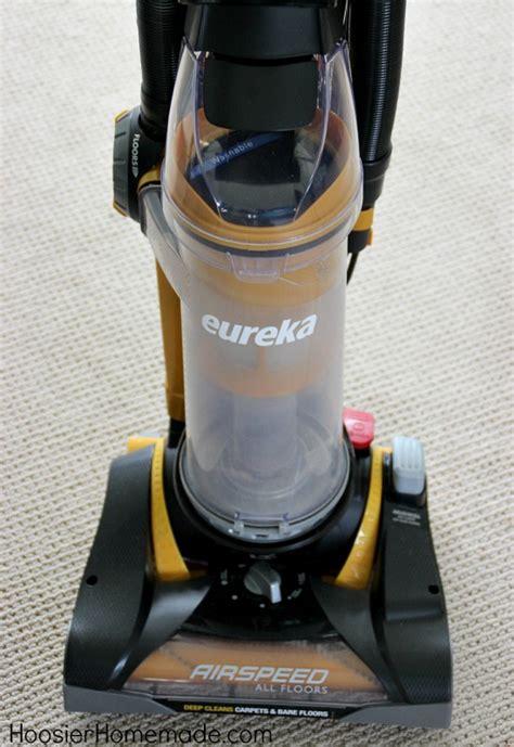 eureka airspeed  floors vacuum giveaway hoosier homemade