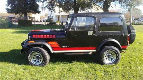 jeep wrangler renegade cj cj  sale
