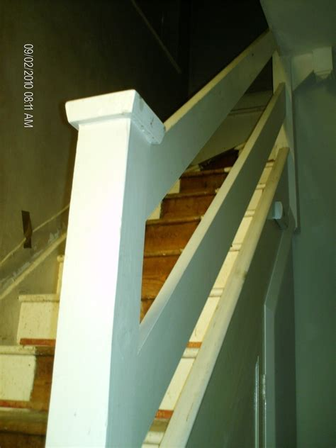 Replace Stair Banister by Replacing Staircase Banister Joinery Cabinet