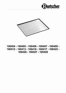 Bartscher 100413 Perforated Tray 600x400
