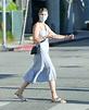 Nick Cordero's wife Amanda Kloots looks somber outside LA ...