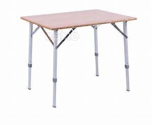 Campingstühle Und Tisch : bambus tisch catania mit aluminiumgestell 80 x 60 cm ~ Whattoseeinmadrid.com Haus und Dekorationen