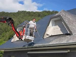 Demoussage Toiture Ardoise : peinture toiture ardoise ~ Premium-room.com Idées de Décoration