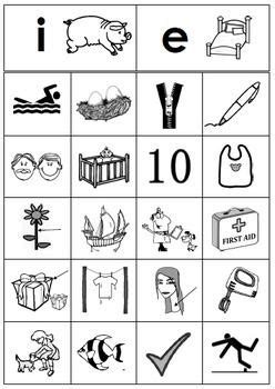 beginning consonant picture sorting centers sample