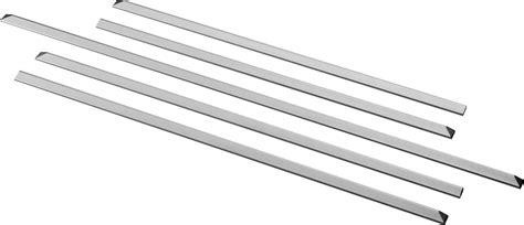 general electric jxfillrss   range filler kit stainless steel
