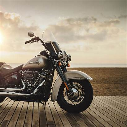 Harley Davidson Motorcycle Bike Background Ipad Side