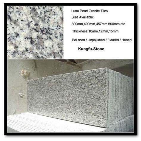 China Luna Pearl Granite   Kungfu Stone Professional China