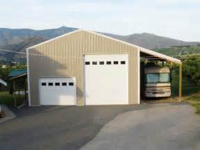 Pole Barn RV Storage Buildings