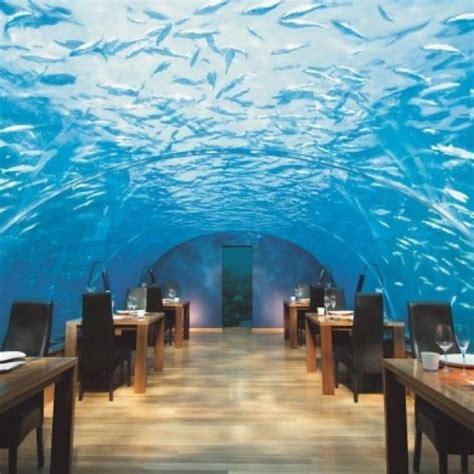 underwater hotel restaurant maldives candle board pinterest