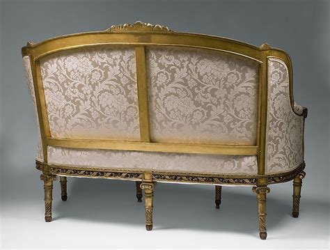 canapé louis 16 18th c carved giltwood louis xvi canape a confidents or