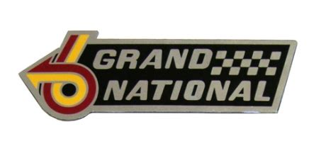 Buick Grand National Logo by 1984 1985 1986 1987 Buick Grand National Turbo 3 8l Gm