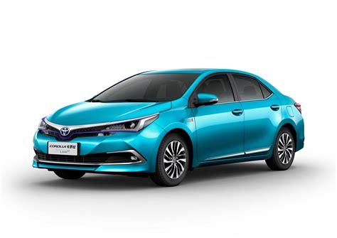 Toyota Electrico 2020 by Toyota Unveils Corolla Sedan Phev In China Promises