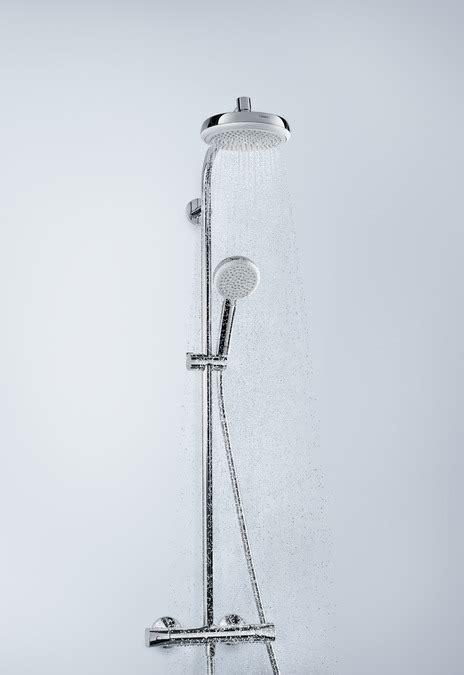 hansgrohe shower pipes crometta 1 spray mode 27264400