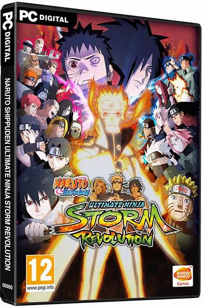 Naruto Ninja Storm Ultimate Revolution Shippuden Nosteam
