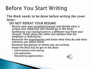 what do cover letters consist of - cover letter webinar