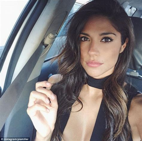 Pia Miller Shows Off Her Flawless Radiant Complexion And