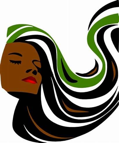 Salon Spa Hair Clipart Clip Hairstylist Transparent