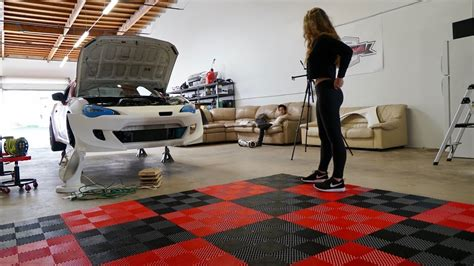 Garage Flooring! Major Improvement To The Dream Garage