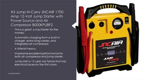 Best Battery Jump Starter Reviews