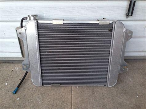 Msa Datsun by S30 240z 260z 280z Msa Cross Flow Radiator Elec Fan Sold